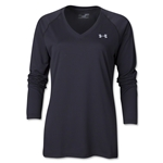 Under Armour Women's Tech LS T-Shirt (Black)