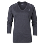Under Armour Women's Tech LS T-Shirt (Dark Gray)