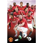 Manchester United 12/13 Players Poster
