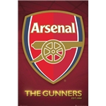 Arsenal 2013 Crest Poster