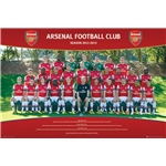 Arsenal 12/13 Team Poster