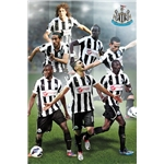 Newcastle 12/13 Players Poster