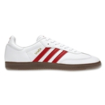 adidas Originals Samba Leisure Shoe (White/Black/Gum)