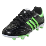 adidas 11Nova TRX FG Junior (Black/Green Zest)