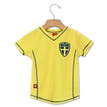 Sweden Toddler Soccer Jersey