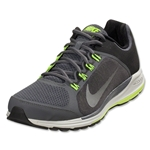 Nike Zoom Elite+ 6 Leisure Shoe (Black/Dark GrayVolt/Reflective Silver)