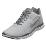 Nike Women's Nike Free TR Fit 3 Running Shoe (Summit White/Metallic Silver)