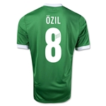 Germany 11/13 Mesut Ozil Away Soccer Jersey