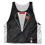 Black and White Tuxedo Lacrosse Jersey