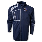 West Virginia University Rugby BLK Stratus Jacket (Black)