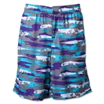 Warrior Hawaiian Short (Blue)