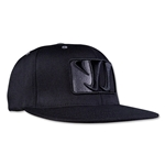 Warrior Playerz Flat Brim (Black)