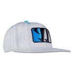 Warrior Playerz Flat Brim (Gray)