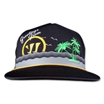 Warrior Vacay Trucker Hat (Black)