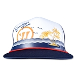 Warrior Vacay Trucker Hat (Navy/White)