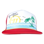 Warrior Vacay Trucker Hat (Sc/Wh)