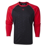 Warrior Game On 2.0 LS T-Shirt (Black/Red)