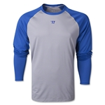 Warrior Game On 2.0 LS T-Shirt (Gray/Royal)