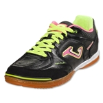 Joma Top Flex Indoor Shoe (Black/Sun Volt/Pink)