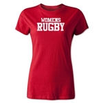 Women's Rugby Statement T-Shirt (Red)