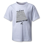 All Blacks Bring It On Kids T-Shirt (White)