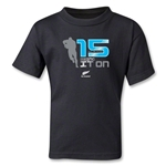 All Blacks 15's Kids T-Shirt (Black)