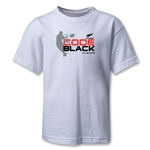 All Blacks Code Black Kids T-Shirt (White)