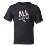 All Blacks The Real Deal Kids T-Shirt (Black)