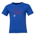 Atletico Madrid ATL MAD Kids T-Shirt (Royal)