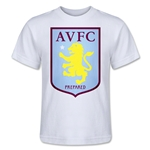 Aston Villa Kids T-Shirt (White)