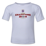 Bayern Munich 2014 Kids Champions T-Shirt (White)