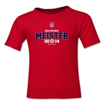 Bayern Munich 2014 Bundesliga Champions Kids T-Shirt (Red)