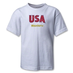 USA CONCACAF Gold Cup 2013 Kids T-Shirt (White)