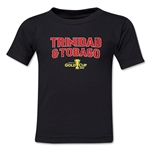 Trinidad & Tobago CONCACAF Gold Cup 2015 Kids Big Logo T-Shirt (Black)