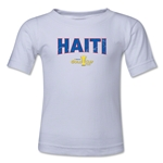 Haiti CONCACAF Gold Cup 2015 Kids Big Logo T-Shirt (White)