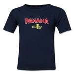 Panama CONCACAF Gold Cup 2015 Kids Big Logo T-Shirt (Navy)