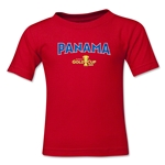 Panama CONCACAF Gold Cup 2015 Kids Big Logo T-Shirt (Red)
