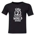 Aloha World Sevens Kids T-Shirt (Black)