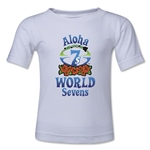 Aloha World Sevens Kids T-Shirt (White)