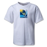 FIFA Beach World Cup 2013 Kids Emblem T-Shirt (White)