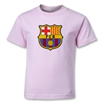 Barcelona Core Kids T-Shirt (Pink)