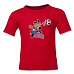 1994 FIFA World Cup Striker Mascot Kids T-Shirt (Red)