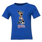 1994 FIFA World Cup Striker Mascot Kids T-Shirt (Royal)