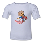 1966 FIFA World Cup Willie Kids Mascot Logo T-Shirt (White)