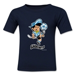 1978 FIFA World Cup Guachito Kids Mascot Logo T-Shirt (Navy)