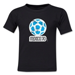 1970 FIFA World Cup Kids Emblem T-Shirt (Black)