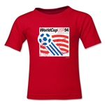 1994 FIFA World Cup Kids Emblem T-Shirt (Red)