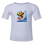 2010 FIFA World Cup Kids Emblem T-Shirt (White)
