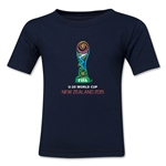 FIFA U-20 World Cup New Zealand 2015 Kids Emblem T-Shirt (Navy)
