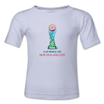 FIFA U-20 World Cup New Zealand 2015 Kids Emblem T-Shirt (White)